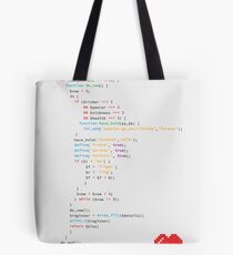 // the wedding code Tote Bag
