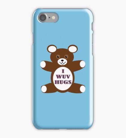 I wuv hugs iPhone Case/Skin