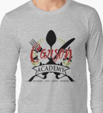 Downton Abbey Inspired - The Carson Academy - Butler, Valet & Footman Training - Mr. Carson from Downton T-Shirt