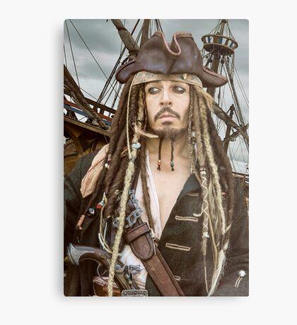 Captain Jack Sparrow  Metal Print