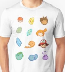 Kanto Stickers Unisex T-Shirt