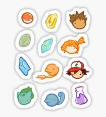 Kanto Stickers Sticker