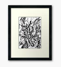 077 Framed Print