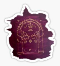Mines of Moria Sticker