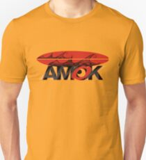 AMOK - tribal wave surfboard Unisex T-Shirt