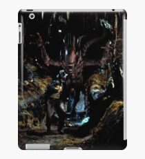 Alien Vs. Indiana Jones iPad Case/Skin