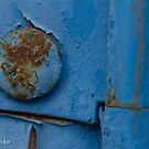The old blue door by Etwin