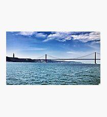 Lisbon Bridge Photographic Print