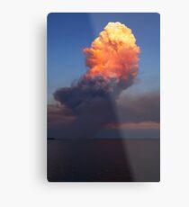 Fire Cloud - Hastings Westernport Bay Metal Print