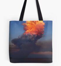 Fire Cloud - Hastings Westernport Bay Tote Bag