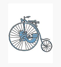 Steam Punk Penny Farthing Photographic Print