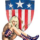 Stars and Stripes 1 by MilitaryPinups
