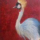 Crowned Crane by Susan Duffey