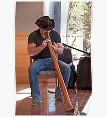Didgeridoo Welcome Poster