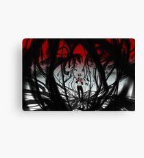 PokeMon- Red Canvas Print