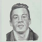 Macklemore Drawing by TomGraphics