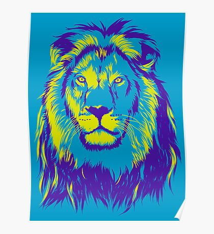 King Lion Poster