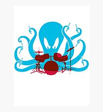 Octo Drummer Photographic Print