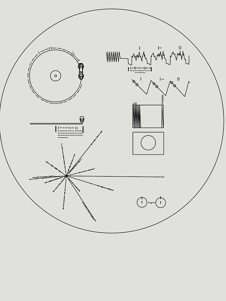 The Voyager Golden Record by leakeg