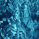 Blue Water Abstract Photograph by RocklawnArts