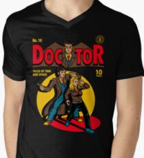 Doctor Comic Men's V-Neck T-Shirt