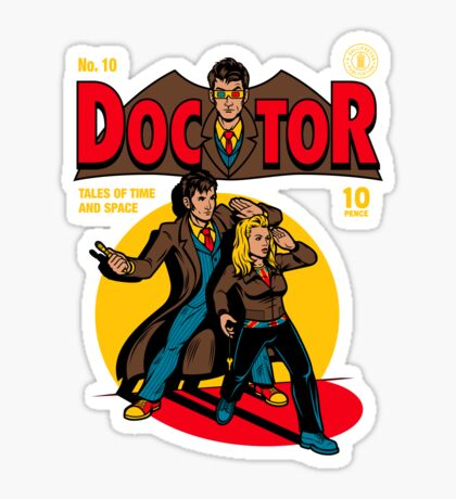 Doctor Comic Sticker