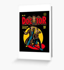Doctor Comic Greeting Card