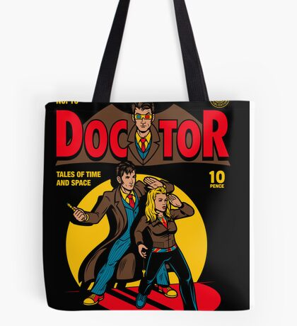 Doctor Comic Tote Bag