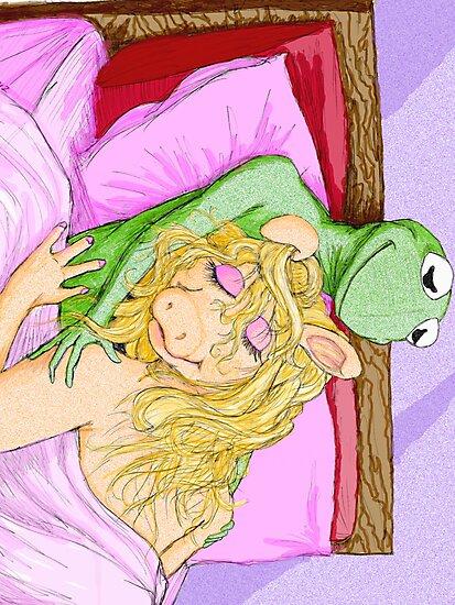 Kermit&Piggy by gravewriter71