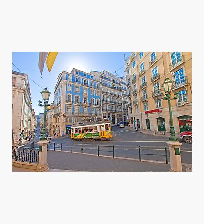 the beautiful light of Lisbon Photographic Print