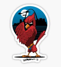 Fredbird the Dark Knight Sticker