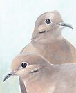 Mourning Dove Couple by Charlotte Yealey
