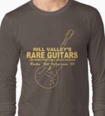 Hill Valley Rare Guitars - Rockin' Since '85 Gibby Long Sleeve T-Shirt