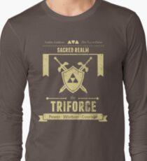 Sacred Realm Triforce Long Sleeve T-Shirt