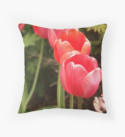 I have flower after flower for you Throw Pillow