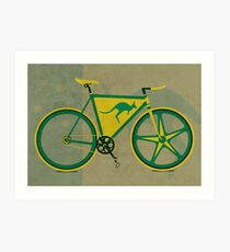 Australia Bike Art Print