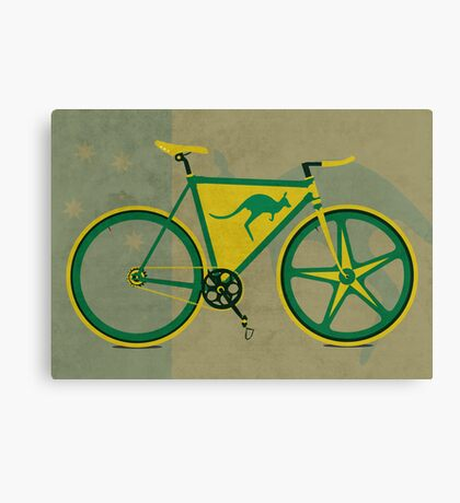 Australia Bike Canvas Print