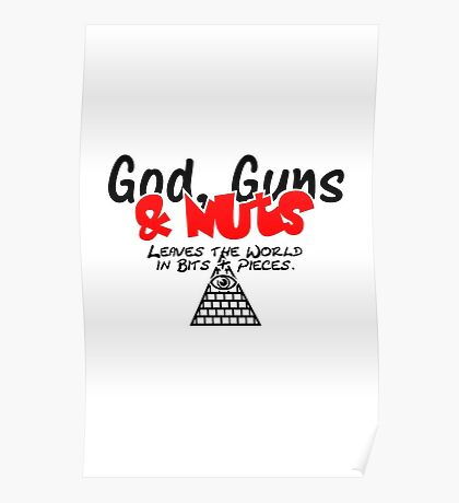 God, Guns & Nuts VRS2 Poster