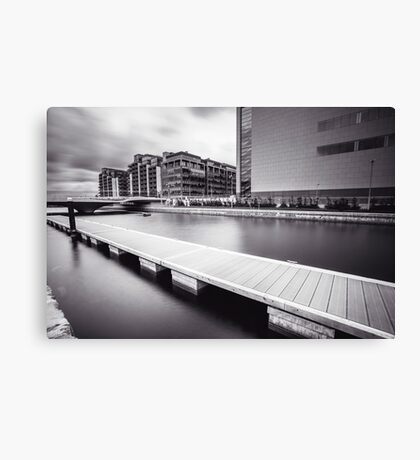 George's Dock, Dublin Docklands Canvas Print