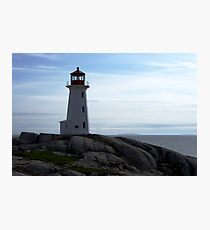 Peggy's Cove Full View Photographic Print