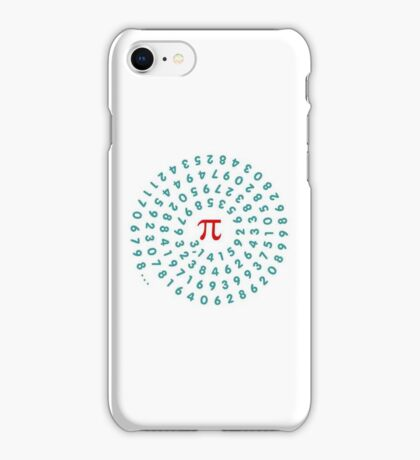 Circumference Pi VRS2 iPhone Case/Skin