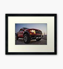 Ford Raptor 1 Framed Print