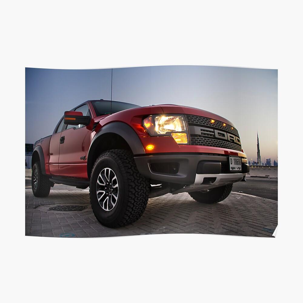 Ford Raptor 1 Poster