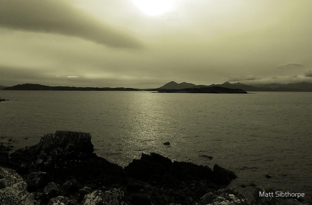 Across a Scottish Bay by Matt Sibthorpe