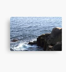 The Rocks at Peggy's Cove Canvas Print