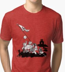 Flags of our Goombas Tri-blend T-Shirt