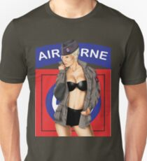 82nd Airborne Pinup T-Shirt