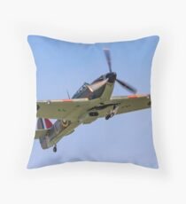 CCF Sea Hurricane X AE977 N33TF Throw Pillow