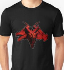 Three-Headed Dragon, Red T-Shirt