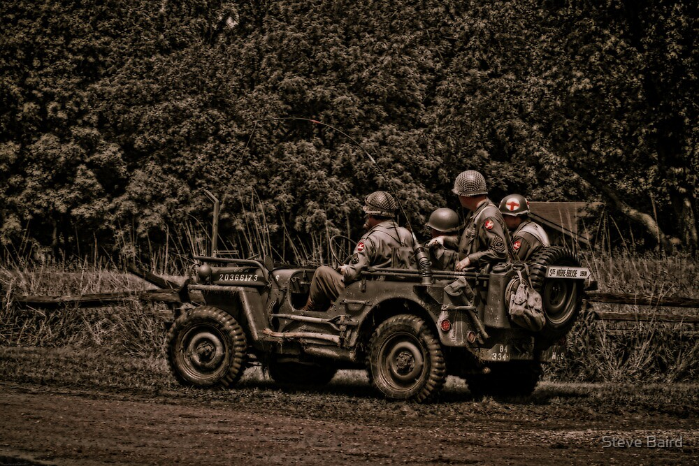 WWII Jeep by Steve Baird
